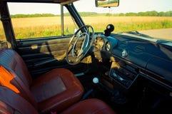 Salon Old Soviet Car. Old Soviet car Lada 1600 (1300) (salon Stock Photo