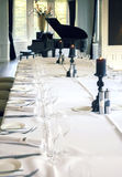 Salon with  piano Stock Photography