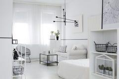 Salon scandinave de style photo stock