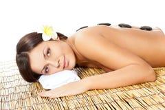 salon spa γυναίκα Στοκ εικόνες με δικαίωμα ελεύθερης χρήσης