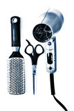 Salon tools Royalty Free Stock Image