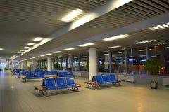 Salon vide d'aéroport Images libres de droits