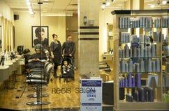 Salon w centrum handlowym Fotografia Stock