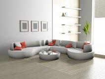 Salone 3D Immagine Stock Libera da Diritti