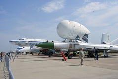 Salone aerospaziale internazionale di MAKS Fotografia Stock Libera da Diritti