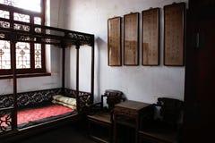Salone antico cinese Fotografia Stock
