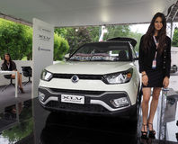 Salone Auto Torino  (Turin Auto Show) Royalty Free Stock Photo