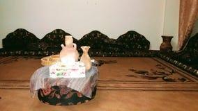 Salone beduino palestinese Immagini Stock