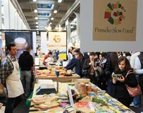 Salone del gusto 2010 royalty free stock photography