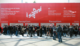 Salone del Mobile 2012 Royalty-vrije Stock Foto's