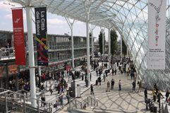 Salone del Mobile 2012 Stock Image