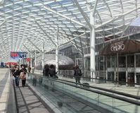 Salone del Mobile 2012 Royalty Free Stock Image