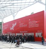 Salone del Mobile 2012 Royalty Free Stock Photography