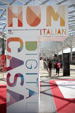 Salone Del Mobile 2013 Stockbild