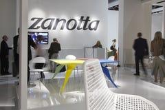 Salone del Mobile, Milaan, meubilairmarkt 2011 Stock Afbeeldingen