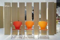 Salone del Mobile, Milaan, meubilairmarkt 2011 Royalty-vrije Stock Fotografie