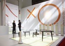 Salone del Mobile, Milan, furniture fair 2011. Salone del Mobile, Milan, furniture fair 12/4/11 - 17/4/11. Starck Royalty Free Stock Images