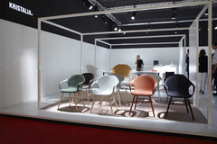 Salone del Mobile, Milan, furniture fair 2011 Royalty Free Stock Image