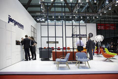 Salone del Mobile, Milan, furniture fair 2011 Stock Photography