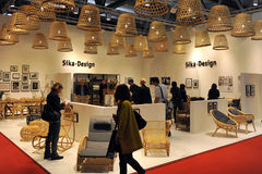 Salone del mobile 2014 Royalty Free Stock Photo