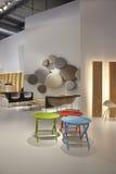 Salone del Mobile, Milan, meubles 2011 juste Images libres de droits