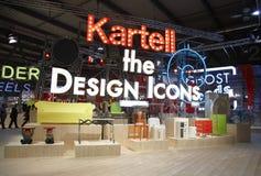 Salone del Mobile, Milan, meubles justes Photos stock