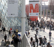 Salone del Mobile 2013 Royalty Free Stock Images