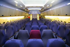 Salone dell'aeroplano Fotografie Stock
