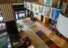 Salone dell'albergo di lusso a Bangkok, Tailandia Fotografia Stock