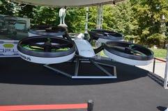 Salone dell& x27;auto Torino parco del Valentino. Ital design  airbus at salone dell& x27;auto Torino Stock Image