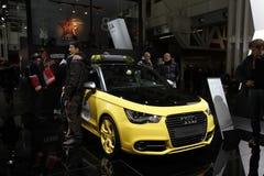 Audi nel salone dell'automobile di Bologna Fotografie Stock Libere da Diritti