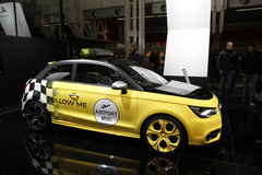 Aeroporto Audi nel salone dell'automobile di Bologna Immagini Stock