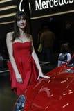 Mercedes nel salone dell'automobile di Bologna Fotografie Stock