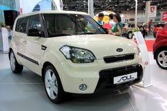 Salone dell'automobile immagine stock