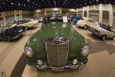 Salone dell'automobile classico di Bangkok fotografia stock