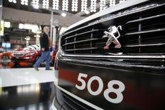 Salone dell'automobile internazionale a Belgrado Immagine Stock Libera da Diritti