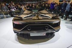 Salone dell'automobile internazionale di Ginevra 2019 fotografie stock libere da diritti