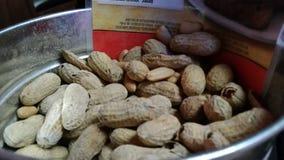 Salone della barra del ristorante del secchio della ciotola delle arachidi Immagine Stock