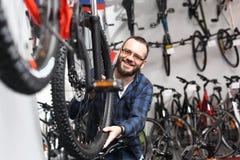 Salone della bicicletta immagini stock libere da diritti