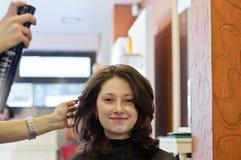 Salone di capelli Fotografie Stock Libere da Diritti