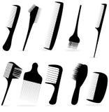 Salone di capelli di bellezza dell'accumulazione illustrazione di stock