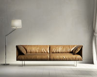 Salone di interior design di stile della Provenza Immagine Stock