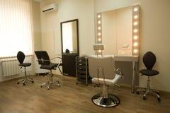 Salone di lavoro di parrucchiere Fotografia Stock