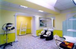 Salone di lavoro di parrucchiere fotografie stock libere da diritti