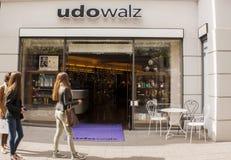 Salone di lavoro di parrucchiere di Udo Walz Fotografia Stock