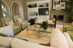 Salone domestico di lusso immagini stock