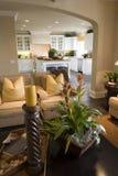 Salone domestico di lusso immagini stock libere da diritti
