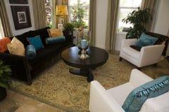 Salone domestico di lusso. immagine stock