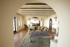 Salone domestico interno Fotografia Stock