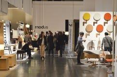 Salone Internazionale del Mobil 2013 Arkivbilder
